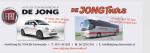 Auto- en Touringcarbedrijf  De Jong