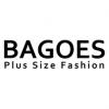 Bagoes plus size fashion